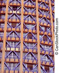 Buildin fasade - The fasade of modern building in Sochi ...
