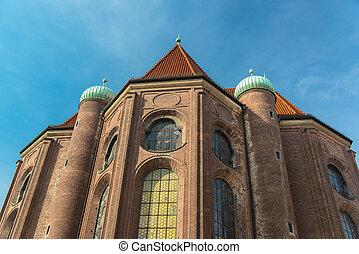 Buildinds in munich city center