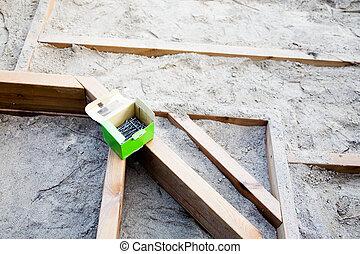 Building a patio