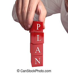 Building a plan 3D rendering