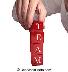 Building a team 3D Rendering