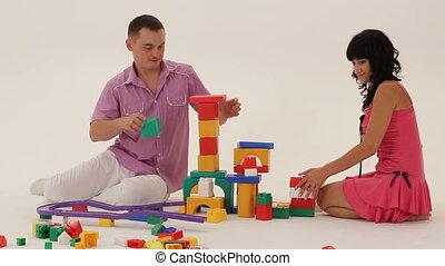 Building a toy castle