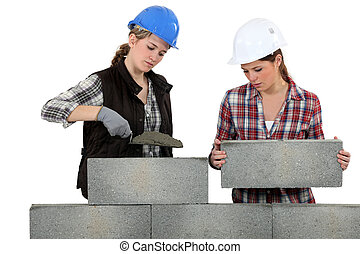 Building a wall