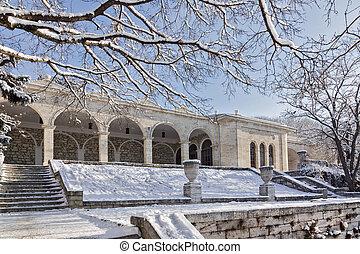 """Building """"Academic gallery"""" .Pyatigorsk"""