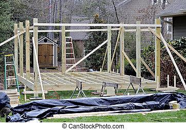 Building an Outdoor Deck