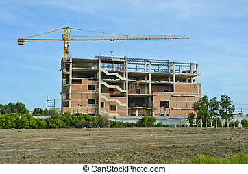 Building and construction site