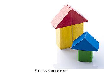 building block house