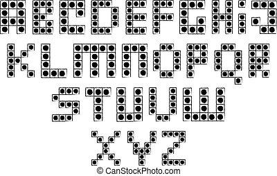 Building Blocks Alphabet