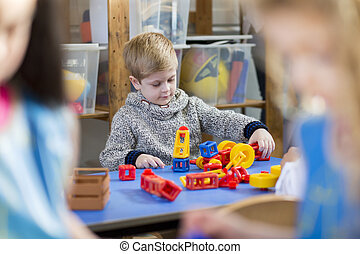 Building Blocks at Nursery