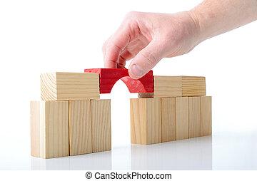 building bridges - constructing the final piece