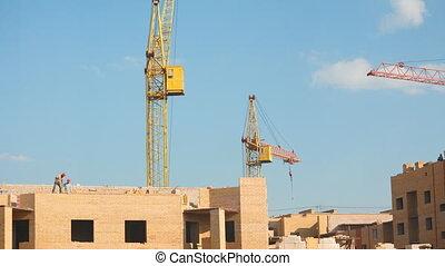 Building construction.