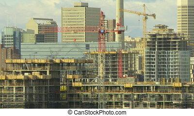 Building Construction time lapse 1