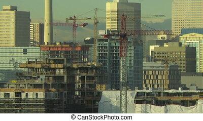 Building Construction time lapse 2