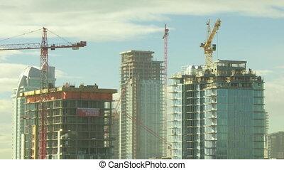 Building Construction time lapse 3
