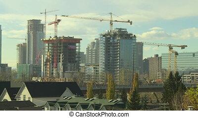 Building Construction time lapse 4