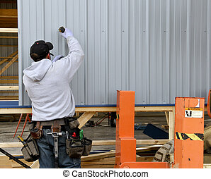 building contruction worker