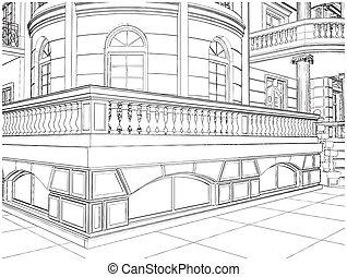 Building Crner Residential House - Building Corner...