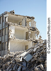 building demolished