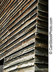 Building Detail - Building detail at the folk museum in...