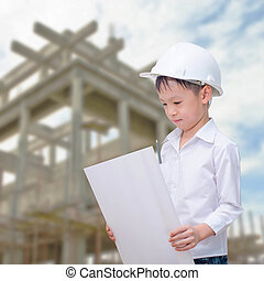 building, developing, construction and architecture concept - sm