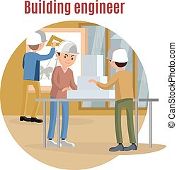 Building Engineering Concept