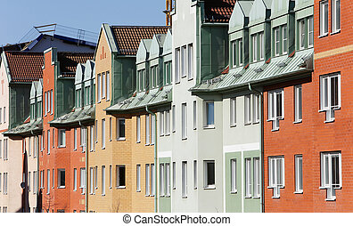 Building exterior - Apartment building exterior..