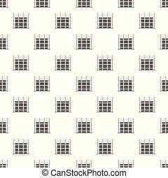 Building exterior pattern seamless vector