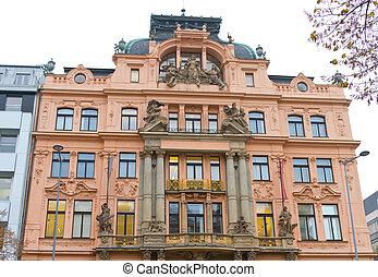 Building from Prague, Czech Republic