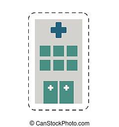building hospital medicine healthcare cut line
