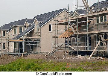 house construction, scotland 2005