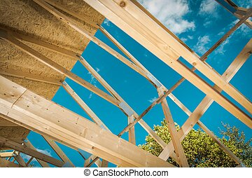 Building House Roof