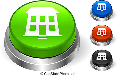 building icon on internet button