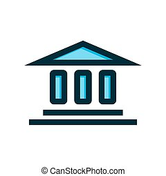 building icon vector illustration isolated on white background