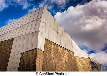 Building in Boston, Massachusetts.