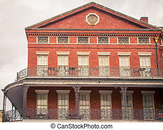 Building in French Quarter New Orleans