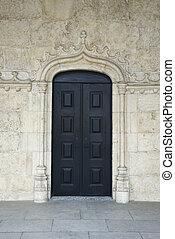Building in Lisbon,.