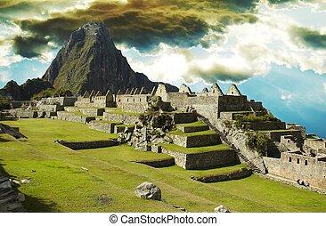 Machu-Picchu - Building in Machu-Picchu city
