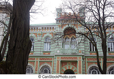 Building in Odessa - View of a nice Building in Odessa