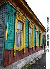 Building in old part of Vitebsk