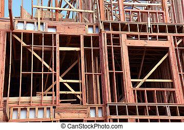 Building in Progress in Memphis Tennessee