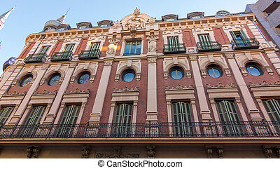 building in the city of Valladolid, Spain