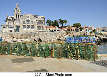 Building in the coast of Cascais