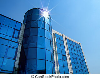building in the sunlight