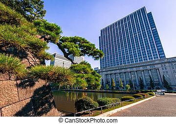 Building in Tokyo, Japan
