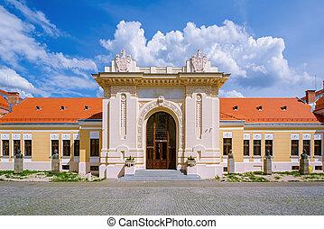 Inside of Alba Carolina Citadel - Building Inside of Alba ...