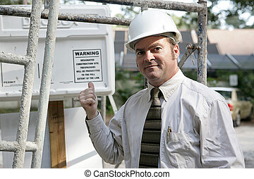 Building Inspector Warning