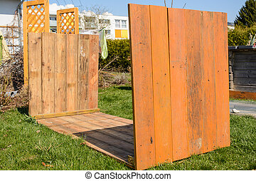 Building instructions raised bed - gardening