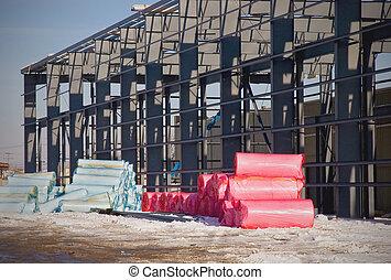 Building Insulation Rolls