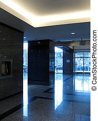 Building interior - A trade building interior clean and ...