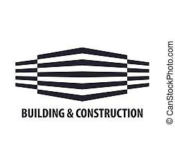 Building logo. Design department. Modern Buildings. Company...